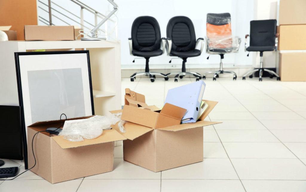 Упаковочные материалы для переезда офиса
